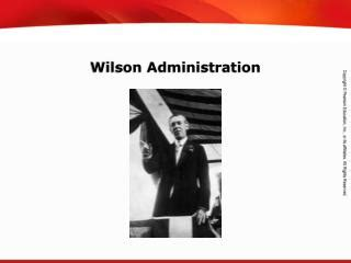 Woodrow wilson essay on administration
